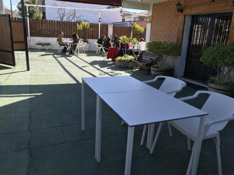Terraza de Restaurante Caminito Torres de la Alameda
