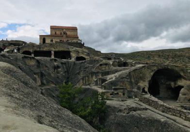 Uplistsikhe, visita a la fortaleza del señor, Gori (Georgia)